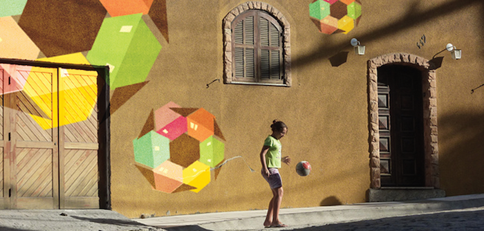 Favela Street in The Guardian